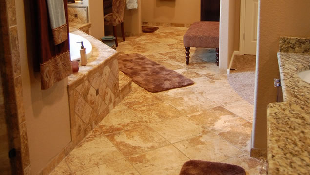 Bathroom Tile Flooring Contractor