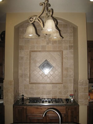 Tile backsplash builder in Seguin Texas.